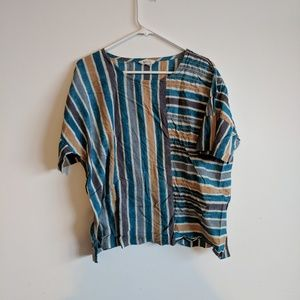 Tops - Beautifully dyed and embroidered bohemian shirt